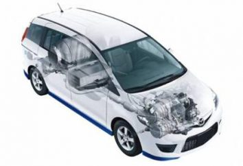 Conducción del sistema de combustible del motor de la A a sistema de combustible Z. Esquema de un motor diesel y un motor de gasolina