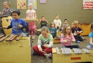 Las clases de música en el jardín de infantes – persona armónicamente el desarrollo