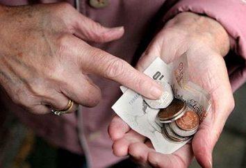 L'augmentation prévue des pensions en 2013