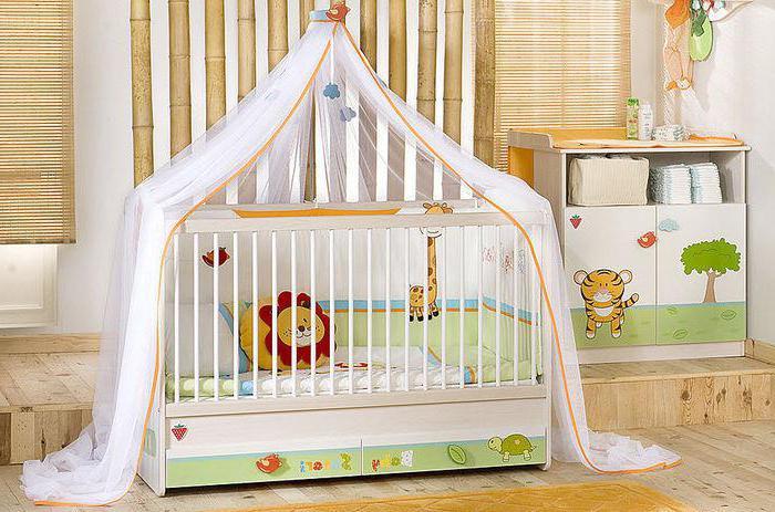 Cuna para bebés: clasificación de los mejores (foto)
