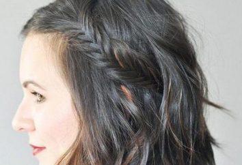 Spikelets na krótkie włosy fryzury gatunki: