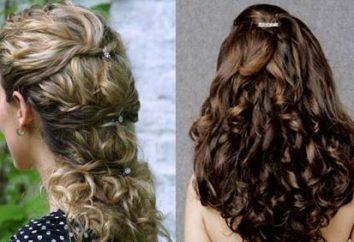 Malvinka-fryzura: łuk przygotowanych warkocze i inne opcje