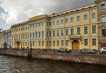 Apartamento Pushkin Museo de AS en el Moika (San Petersburgo)