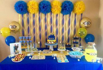 """Como organizar uma festa de aniversário no estilo de """"Minions"""" para o seu filho?"""