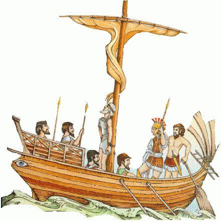 Odyssey Gedicht. Zusammenfassung Fee Abenteuer