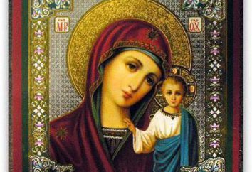 Orações do ícone de Kazan da Mãe de Deus. oração ortodoxo