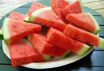 Dieta de sandía: beneficio y daño. Dieta de sandía: reseñas de médicos, contraindicaciones