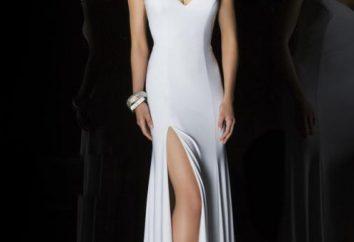 vestidos de noche elegantes, que han de ser puestos de nuevo