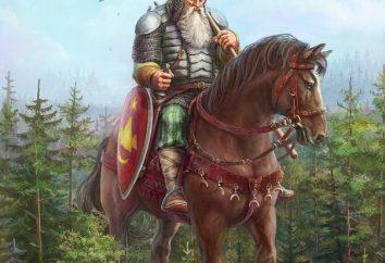 Svyatogor: guerreiro enorme crescimento e força incrível