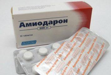 """El medicamento """"La amiodarona"""": análogos, instrucciones, comentarios"""