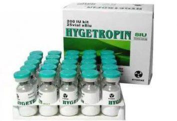 « Haygetropin »: commentaires, caractéristiques et l'efficacité de l'application