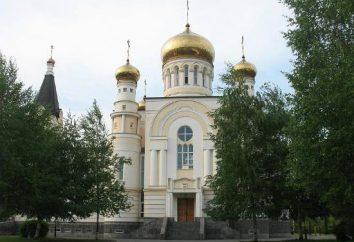 Catedral Catedral de St. George, em Vladikavkaz – o centro da espiritualidade cristã Alanya