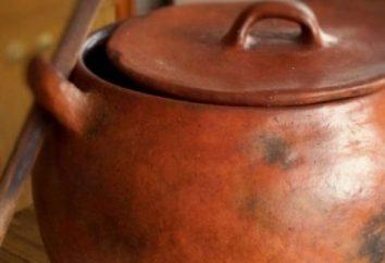 Pour aider la femme à manger prudente: à quoi faire cuire dans un pot?