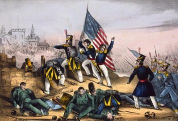 Guerre américano-mexicaine, 1846-1848 ans. Le déclenchement des hostilités, les commandants, les territoires contestés