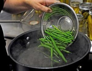 Blanch – es como? verduras Blanshiruem