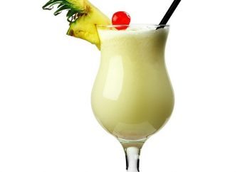 "Cocktail ""Pinakolada"": leggendaria ricetta cocktail"