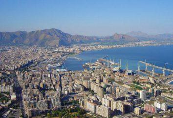 Die Hauptstadt von Sizilien. Sehenswürdigkeiten Foto