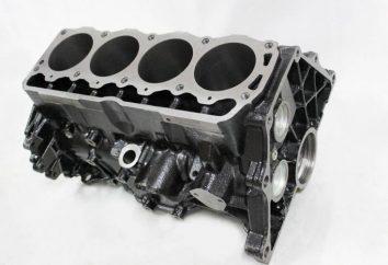 Tudo sobre o motor de combustão interna do bloco de cilindros