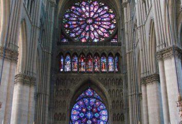 Gothic róża w architekturze