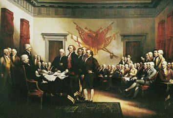 La Dichiarazione di Indipendenza 1776-2083
