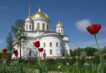 Novotihvinsky Kloster Jekaterinburg: Fotos, Wegbeschreibungen