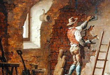 Yesero y pintor. industria de la construcción. Descripción del trabajo yesero pintor
