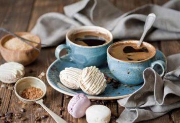 Kawa z zefirkami: opis i sposób przygotowania