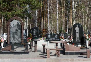 """Graves bandytów 90: fotografia. Graves bandyci """"Uralmash"""". Pomniki na grobach bandytów"""