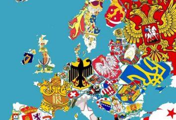 Herby państw europejskich – ostatnie tradycji średniowiecza