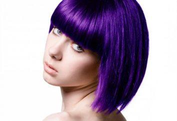 tinture per capelli temporanee. I loro tipi e forme