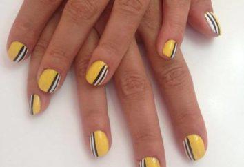 Ricostruzione unghie gel di smalto sulle unghie corte: moderne tendenze della moda