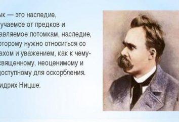 Déclarations de grands de la langue russe, leur puissance et leur pertinence