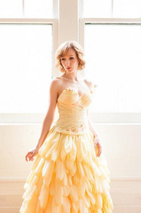 d856ae36304e Come fare un vestito di carta ondulata  Master Class