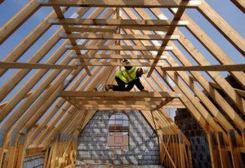 Instalação de um sistema de telhado de gable: construção, materiais e ferramentas