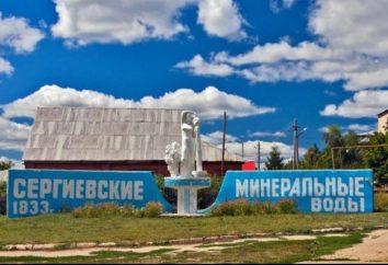 Sernovodsk, a região de Samara. Sernovodsk, Samara. Sernovodsk, estância termal