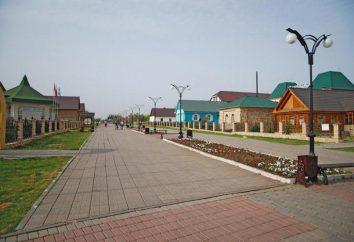 """Kulturowe i kompleks rozrywkowy """"Narodowy Village"""" w Orenburg"""