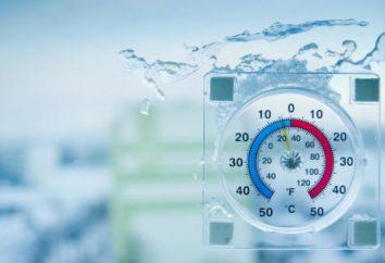 ¿Cuál es la temperatura? Unidades de temperatura – grados. La temperatura del vapor de agua y gas