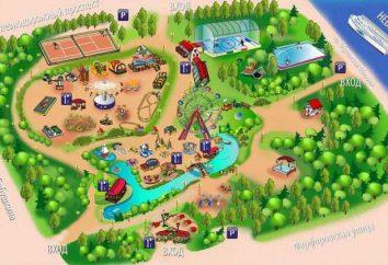 Mappa e descrizione del parco a loro. La nonna. Tales Park (Saint-Petersburg)
