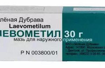 """Ointment """"Levometil Pro"""": Gebrauchsanweisungen, Hinweise"""