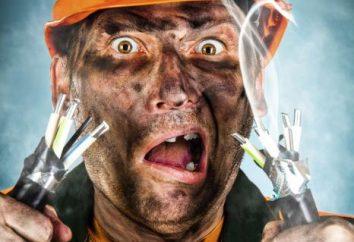 Rodzaje elektrycznych wstrząsów, powodów. Pierwsza pomoc dla porażenia prądem