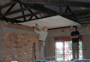 Jak zrobić sufit gipsowo-kartonowych z rękami? Nie tak trudne