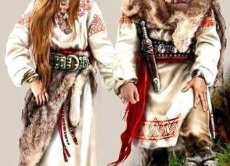 E você sabe como olhar eslavos nos tempos antigos?