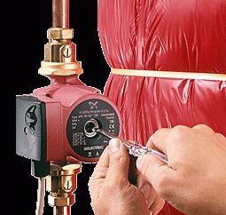 Installieren Sie die Pumpe im Heizungssystem zu Hause. Wie eine Umwälzpumpe installiert werden?