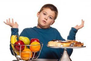 Ernährung für ein Kind 10 Jahre. Diät für Aceton bei Kindern. Diät für Allergien bei Kindern