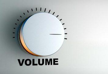 schema di controllo del volume e l'applicazione di