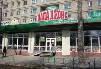 """Sieć pizzerii """"Papa Jones"""": recenzje, adres, telefon"""