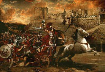Starożytna Grecja: legendy i mity cyklu trojańskiego. Trojan podsumowanie cyklu mit, działki i znaki