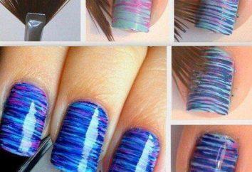 manicure d'arte a casa: foto