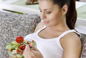 La nutrition pendant la grossesse, 1 trimestre. Qu'est-ce que vous voulez et ce que vous pouvez?