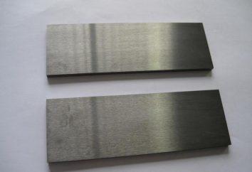 Carbide e loro tipi. Dove inserti in metallo duro usati